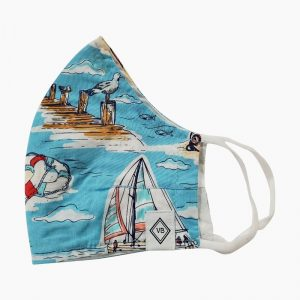 VB Mask - Beach Toile