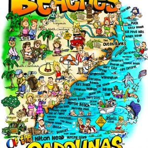 Beaches of the Carolinas