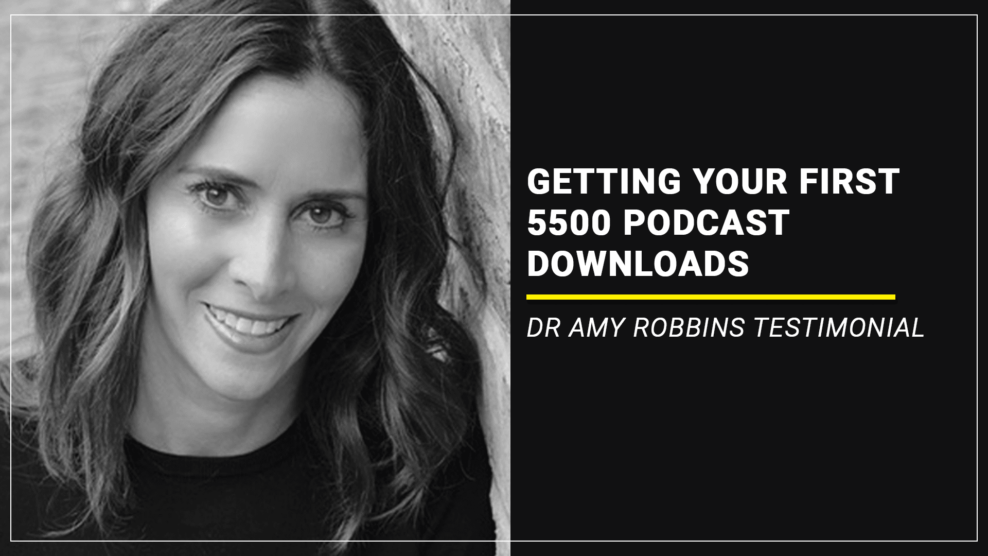 getting podcast downloads dr amy robbins