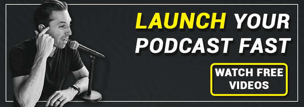 podcast launch video