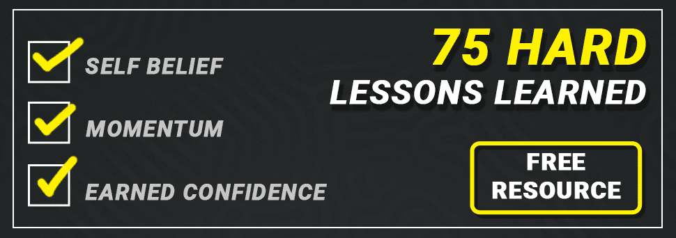 75 hard lessons learned