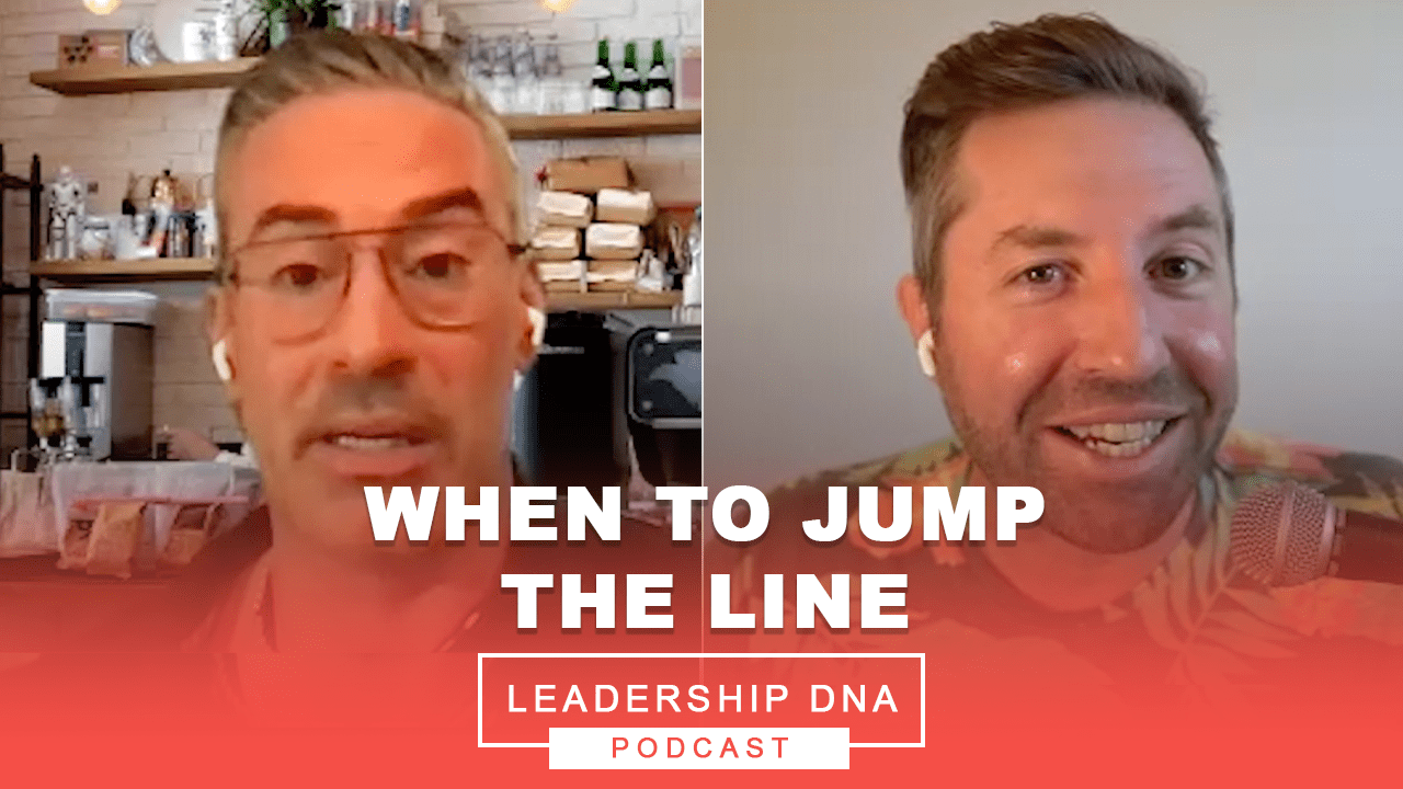 When To Jump The Line